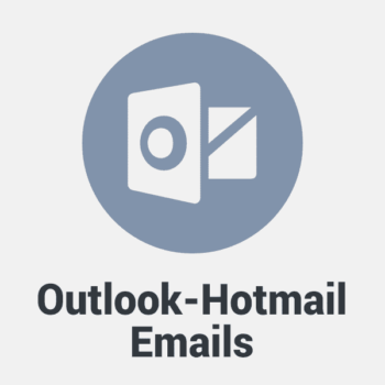 Outlook and Hotmail Email List