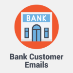 bank customer emails
