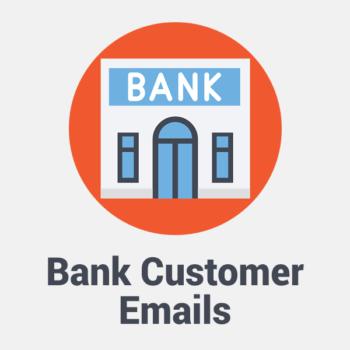 bank customer email list