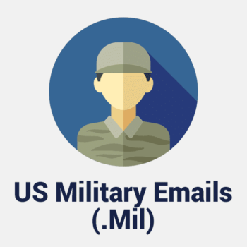 usa military emails (.mil)