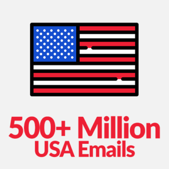 500 million usa bulk emails