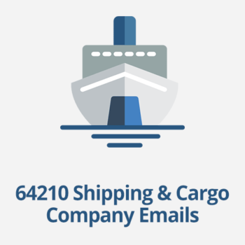 shipping and cargo company email database