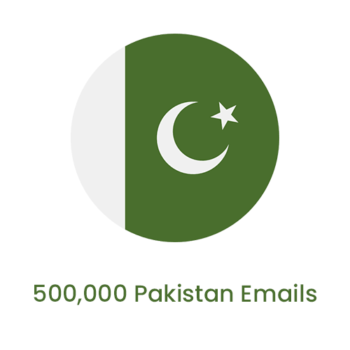 500,000 pakistan emails