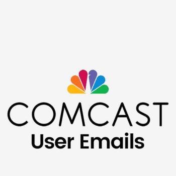 comcast user email list