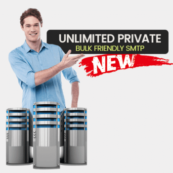 unlimited bulk friendly private smtp
