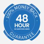 48 hour money back guarantee-min