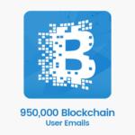blockchain user emails