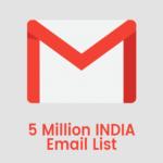 5 million india gmail list