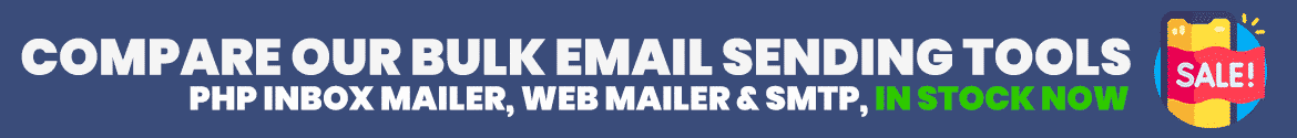 compare our php mailer, webmail and smtp